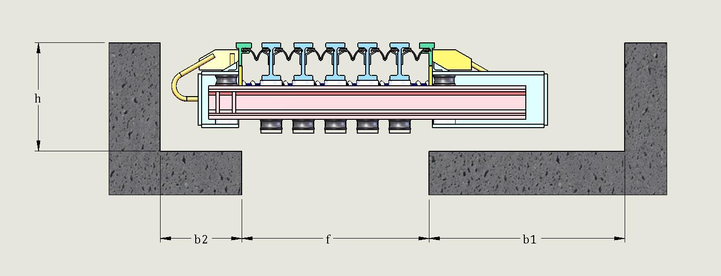 Modular expansion joint techstar